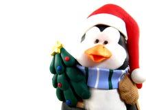 Χριστούγεννα penguin Στοκ εικόνα με δικαίωμα ελεύθερης χρήσης