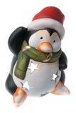 Χριστούγεννα penguin Στοκ φωτογραφία με δικαίωμα ελεύθερης χρήσης