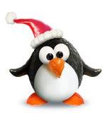Χριστούγεννα penguin veggiefruit Στοκ Εικόνες