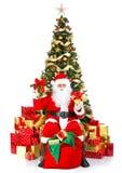 Χριστούγεννα Santa στοκ εικόνες με δικαίωμα ελεύθερης χρήσης