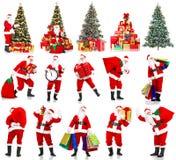 Χριστούγεννα Santa Στοκ Εικόνα