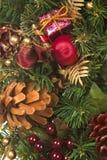 Χριστούγεννα swag Στοκ φωτογραφία με δικαίωμα ελεύθερης χρήσης