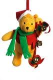 Χριστούγεννα teddy Στοκ φωτογραφίες με δικαίωμα ελεύθερης χρήσης