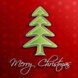 Χριστούγεννο-δέντρο Στοκ Εικόνες
