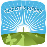 Χριστός αυξάνεται στοκ εικόνες με δικαίωμα ελεύθερης χρήσης