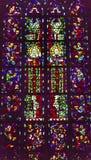 Χριστός λεκίασε το νέο καθεδρικό ναό Nieuwe Kerk Ντελφτ Κάτω Χώρες γυαλιού Στοκ Φωτογραφίες