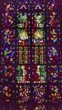 Χριστός λεκίασε το νέο καθεδρικό ναό Nieuwe Kerk Ντελφτ Κάτω Χώρες γυαλιού Στοκ φωτογραφίες με δικαίωμα ελεύθερης χρήσης