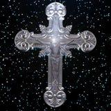 Χριστός και ο σταυρός στοκ εικόνα με δικαίωμα ελεύθερης χρήσης