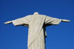 Χριστός ο απελευθερωτής (Cristo Redentor) Ρίο, Βραζιλία Στοκ Φωτογραφίες