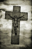 Χριστός ο διαγώνιος ιερός Ιησούς Στοκ φωτογραφία με δικαίωμα ελεύθερης χρήσης
