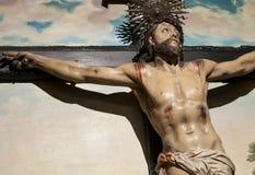 Χριστός ο διαγώνιος Ιησ&omicron Στοκ Φωτογραφίες