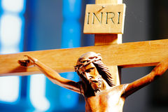 Χριστός ο διαγώνιος Ιησ&omicron Στοκ φωτογραφία με δικαίωμα ελεύθερης χρήσης