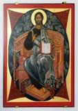 Χριστός πανίσχυρος στοκ εικόνες