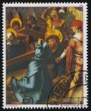 Χριστός που φέρνει το σταυρό από Durer Στοκ Εικόνες