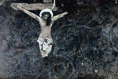 Χριστός στη διαγώνια σύσταση στοκ εικόνα