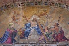 Χριστός στη δόξα στοκ φωτογραφία με δικαίωμα ελεύθερης χρήσης