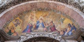 Χριστός στη δόξα στοκ εικόνες
