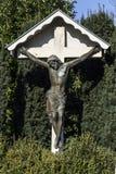 Χριστός στο διαγώνιο λ Στοκ φωτογραφίες με δικαίωμα ελεύθερης χρήσης