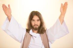 Χριστός στο ελαφρύ υπόβαθρο στοκ φωτογραφία με δικαίωμα ελεύθερης χρήσης