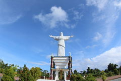 Χριστός το άγαλμα απελευθερωτών στο νησί της Παπούας Στοκ Φωτογραφίες