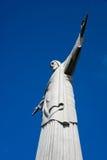 Χριστός το άγαλμα Ρίο απελευθερωτών Στοκ φωτογραφία με δικαίωμα ελεύθερης χρήσης