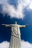Χριστός το άγαλμα Ρίο απελευθερωτών Στοκ Φωτογραφίες