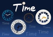 Χρονικά ρολόγια Στοκ Φωτογραφίες