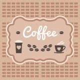Χρονική έννοια καφέ Στοκ φωτογραφία με δικαίωμα ελεύθερης χρήσης