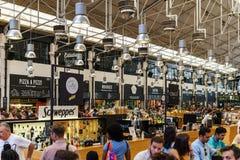 Χρονική έξω αγορά στη Λισσαβώνα Στοκ εικόνα με δικαίωμα ελεύθερης χρήσης