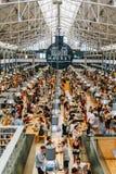 Χρονική έξω αγορά στη Λισσαβώνα Στοκ εικόνες με δικαίωμα ελεύθερης χρήσης