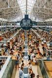 Χρονική έξω αγορά στη Λισσαβώνα Στοκ Εικόνα