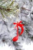 Χρονική μουσική Χριστουγέννων Στοκ εικόνα με δικαίωμα ελεύθερης χρήσης