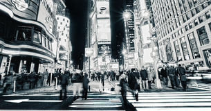 Χρονική τετραγωνική Νέα Υόρκη Στοκ Φωτογραφία
