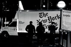 Χρονικό περιοδικό της Νέας Υόρκης - οι New York Times Στοκ Φωτογραφία