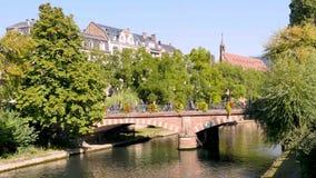 Χρονικό σφάλμα στο Στρασβούργο απόθεμα βίντεο