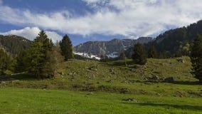 Χρονικό σφάλμα του βαυαρικού βουνού Benediktenwand απόθεμα βίντεο