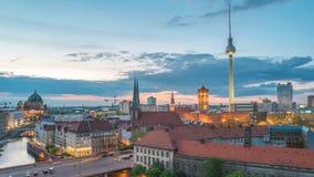 Χρονικό σφάλμα του Βερολίνου Γερμανία απόθεμα βίντεο