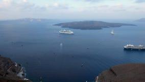 Χρονικό σφάλμα των κρουαζιερόπλοιων στο λιμένα Santorini φιλμ μικρού μήκους