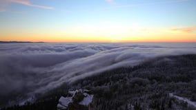 Χρονικό σφάλμα των σύννεφων απόθεμα βίντεο