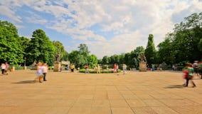 Χρονικό σφάλμα Βαρσοβία κυκλοφορίας πόλεων για τους πεζούς