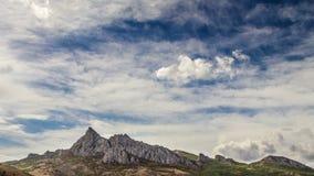Χρονικό σφάλμα βουνών Karadag απόθεμα βίντεο