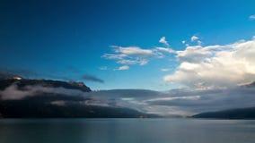 Χρονικό σφάλμα λιμνών Brienzer απόθεμα βίντεο