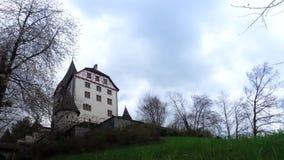 Χρονικό σφάλμα κάστρο Ελβετία Το παλαιό Castle βρίσκεται στην πόλη Weinfelden απόθεμα βίντεο