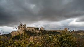 Χρονικό σφάλμα μοναστηριών Ucles Cuenca, Ισπανία απόθεμα βίντεο