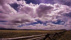 Χρονικό σφάλμα σύννεφων απόθεμα βίντεο