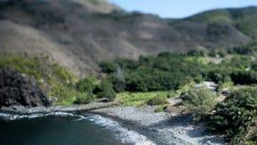 Χρονικό σφάλμα της ακτής - μετατόπιση κλίσης φιλμ μικρού μήκους