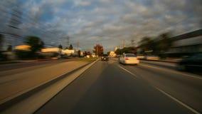 Χρονικό σφάλμα της οδήγησης του Λος Άντζελες απόθεμα βίντεο