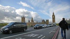 Χρονικό σφάλμα του Λονδίνου Big Ben απόθεμα βίντεο