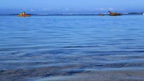 Χρονικό σφάλμα Kayaking απόθεμα βίντεο