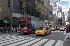 Χρονικό τετράγωνο πόλεων της Νέας Υόρκης στοκ φωτογραφία με δικαίωμα ελεύθερης χρήσης